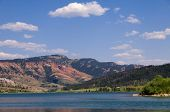 The Red Hills On The Gros Ventre Lake