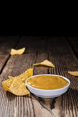 pic of nachos  - Nachos with Cheese Sauce  - JPG