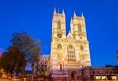 Westminster Abbey In The Evening - London, England poster