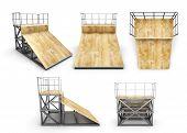 picture of half  - Element skate park half - JPG