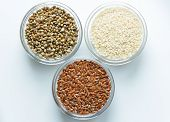 picture of sesame seed  - Flax - JPG