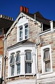 pic of stone house  - Victorian terraced town houses in London - JPG