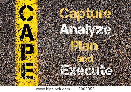 Business Acronym Cape Capture Analyze