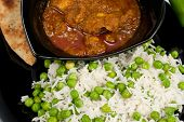 Pollo al Curry de Madras