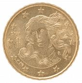 Постер, плакат: Euro Cent Coin