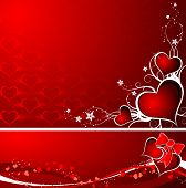 Valentines Background, Vector
