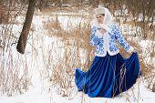 ������, ������: Russian Young Woman