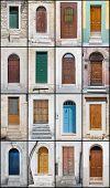 Door Collage.