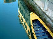 Venice Boat Reflection