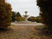 autum walk in the park