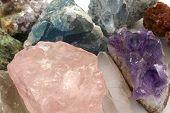 pic of feldspar  - Crystals of semi - JPG