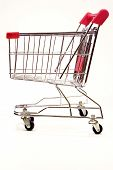 Shopping Trolley On White Background 6