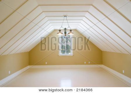Picture Or Photo Of Upstairs Loft Room With No Furniture