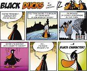 Постер, плакат: Черный уток комиксы эпизод 67