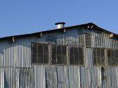 verlassenen Fabrikhalle