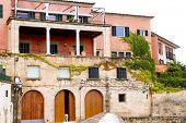 image of calatrava  - Majorca house facades at Palma de Mallorca Barrio Calatrava - JPG