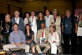 LOS ANGELES - JUL 16:  Dynasty & Colbys Cast Members at the Hollywood Show at Burbank Marriott Conve