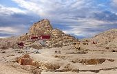 Tsaparang, The Ruins Of The Ancient Capital Of Guge Kingdom And Tholing Monastery, Tibet poster