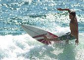 Surfer Cut-Back