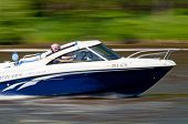 Speedboat In Action