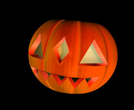 picture of jack-o-laterns-jack-o-latern  - Halloween pumpkin  - JPG