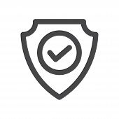 Safe Zone Icon Isolated On White Background. Safe Zone Icon In Trendy Design Style For Web Site And  poster