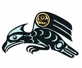 native mythological image eagle