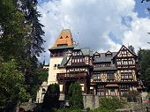 Pelisor Castle Romanian: Castelul Pelisor Is A Castle In Sinaia, Romania, Part Of The Same Complex A poster