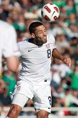 PASADENA, CA - MAY 25: United States M player Clint Dempsey #8 during the 2011 CONCACAF Gold Cup championship game on May 25, 2011 at a sold out Rose Bowl in Pasadena, CA.