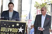 LOS ANGELES, CA - APR 5: Seth MacFarlane, Adam West at a ceremony where Adam West is honored with a