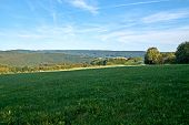 Summer Landscape Shot In The Eifel In Germany. poster