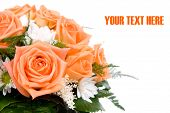 Wedding Orange Bouquet