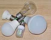 Led Lamps Have A Lifespan Many Times Longer Than Equivalent Incandescent Lamps. Use Led Lamps For Sa poster
