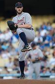 LOS ANGELES - JUNE 20: Detroit Tigers starting pitcher Brad Penny #31 during the Major League Baseba