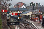 Llangollen Railway Station, Denbighshire, Wales, Uk.