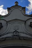 Sky Cloud At Top Off Old Church