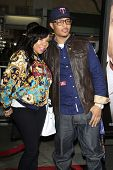 LOS ANGELES - FEB 4: T.I., aka Clifford Joseph Harris Jr., wife Tiny, aka Tameka Harris at the Premi