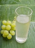 fresh healthy refreshing grape juice
