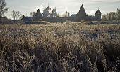 Pokrovsky Convent In Backlight (Suzdal, Russia).