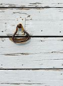 Old Rusted Door Knocker