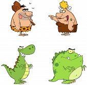 Prehistoric Cartoon Characters Collection