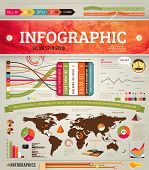 Elemente der Infografiken für Design, Set 10 Eps-Vektor-Illustration