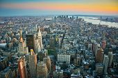 Luchtfoto Over Lower Manhattan New York
