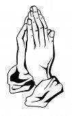mano de oración