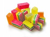 multicolor sweet gelly as tasty dessert