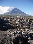 Pebbles and Rocks at Mayon (Bicol)
