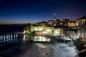 Overview Of Bogliasco Illuminated