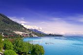 View of Lake Toba.