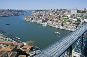 Luis I Bridge At Porto, Portugal