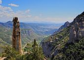View From Montserrat Mountain, Spain